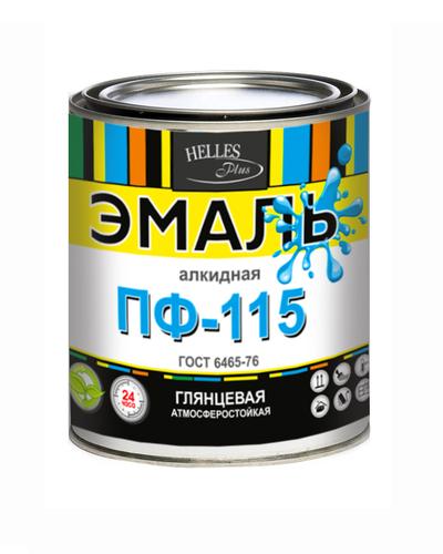 Эмаль ПФ-115 ГОСТ,  Helles Plus,  25 цветов,  грунт,  тара от 1 до 55 кг - main