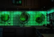 Настенная декоративная отделочная светящаяся плитка, мозайка, панели