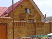 Строительство и облицовка фасадов дагестанским камнем (ракушечником) - foto 1