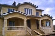 Строительство и облицовка фасадов дагестанским камнем (ракушечником) - foto 2