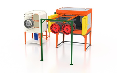Производим и продаем оборудование для порошковой покраски  - main