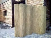 Рулоны из камыша,  отделка стен и потолков,  обои из камыша - foto 1